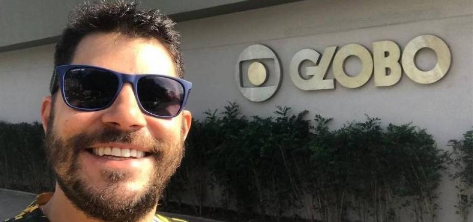 [Evaristo Costa estreia como dublador e faz piada com saída da Globo]