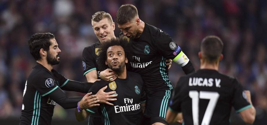 [Champions: Real vence Bayern de virada por 2 a 1 fora de casa]