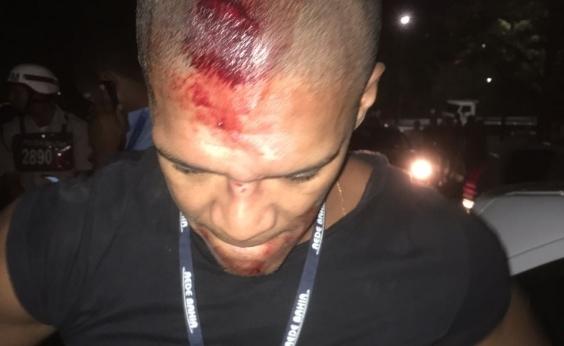 Fotógrafo do Correio é agredido por agente da Transalvador