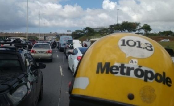 Chuvas dão trégua, congestionamentos não: veja quais vias evitar em Salvador