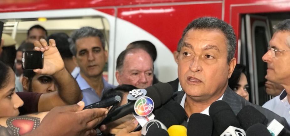 [Rui anuncia licitação de ampliação do metrô até Cajazeiras em maio]