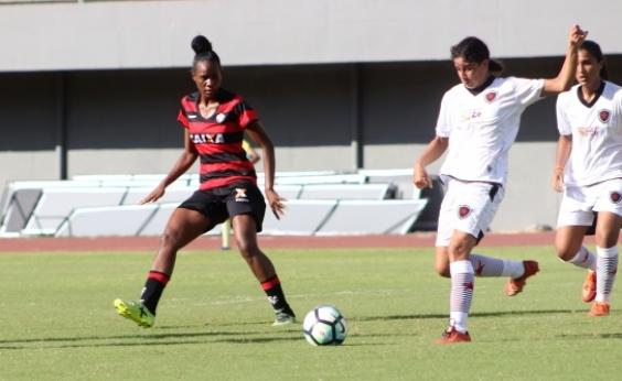 Futebol feminino: Vitória supera o Botafogo-PB pela estreia na Série A2