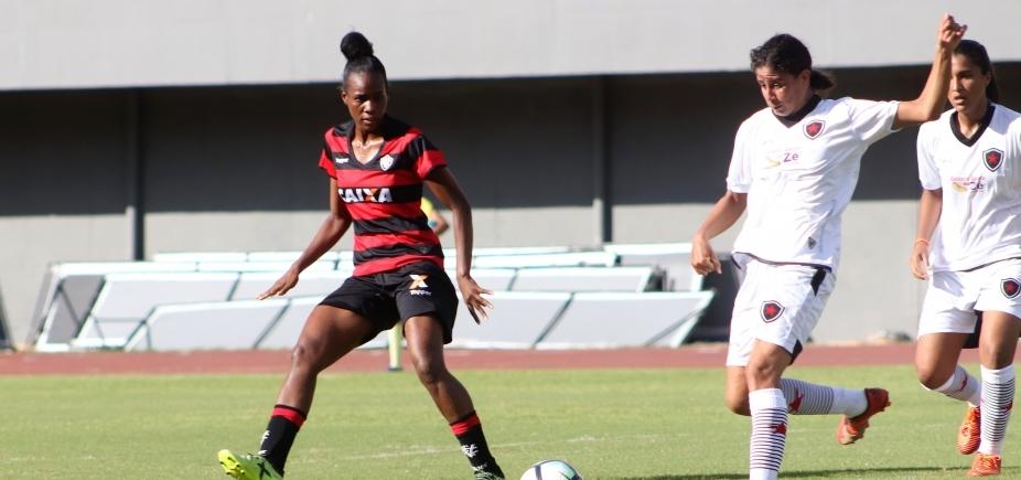 [Futebol feminino: Vitória supera o Botafogo-PB pela estreia na Série A2]