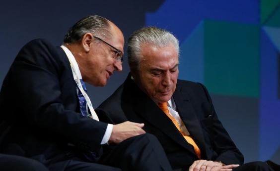 Temer articula com PSDB para montar chapa Alckmin-Meirelles