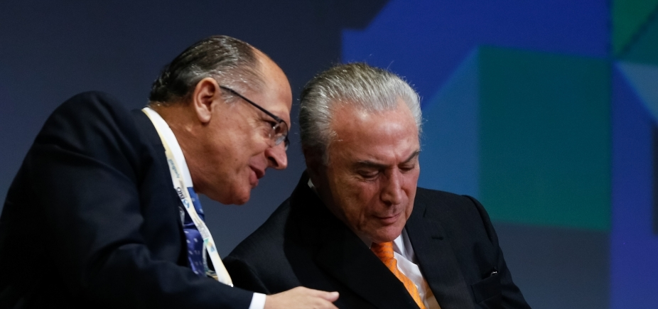 [Temer articula com PSDB para montar chapa Alckmin-Meirelles]