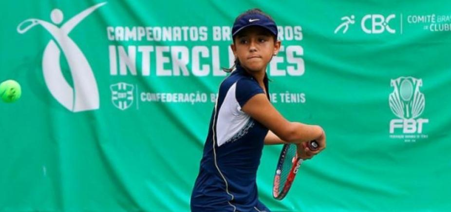 [Baiana de 12 anos vence etapa do Campeonato Brasileiro Interclubes de Tênis]