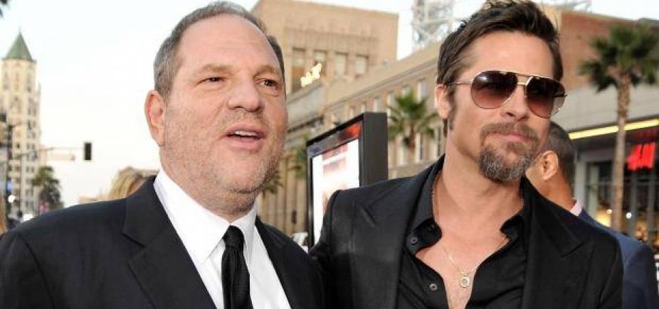 [Brad Pitt produzirá filme sobre escândalo sexual do produtor Harvey Weinstein]
