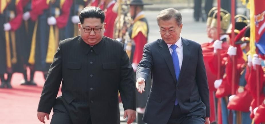 [Governo brasileiro elogia encontro das Coreias]