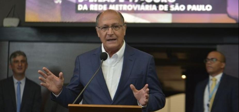 [Sem citar Meirelles, Alckmin defende aliança ʹdo centro democráticoʹ]