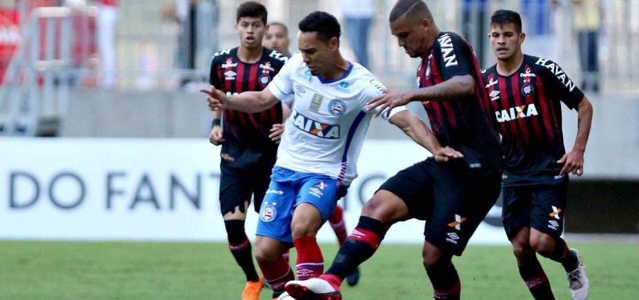 [Bahia perde chances de gol e fica no 0x0 contra o Atélico-PR ]