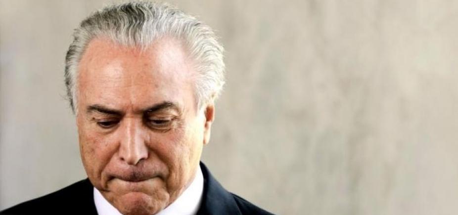 [Temer antecipa retorno a Brasília para acompanhar votação no Congresso]