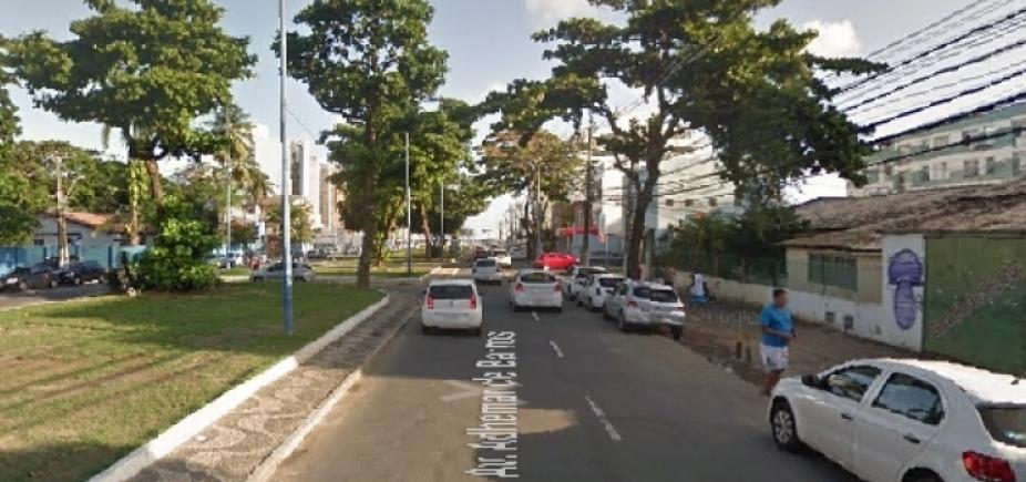 [Trânsito é alterado em Ondina devido a obras de requalificação]