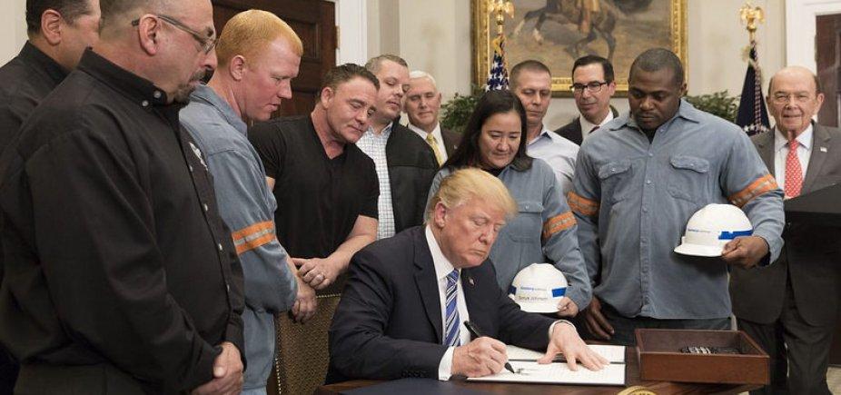 [EUA cancelam negociações e impõem sobretaxa ao aço e alumínio brasileiro]