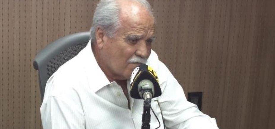 [João Santana diz que MDB está 'magoado' com ACM Neto, mas nega rompimento com prefeito]