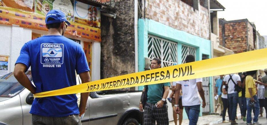 [Defesa Civil registra cinco ameaças de desabamento em Salvador]