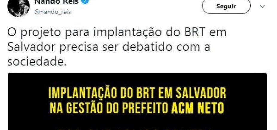 [Artistas convocam manifestação contra o BRT em Salvador]