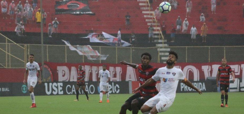 [De virada, Vitória perde para o Fluminense no Barradão]