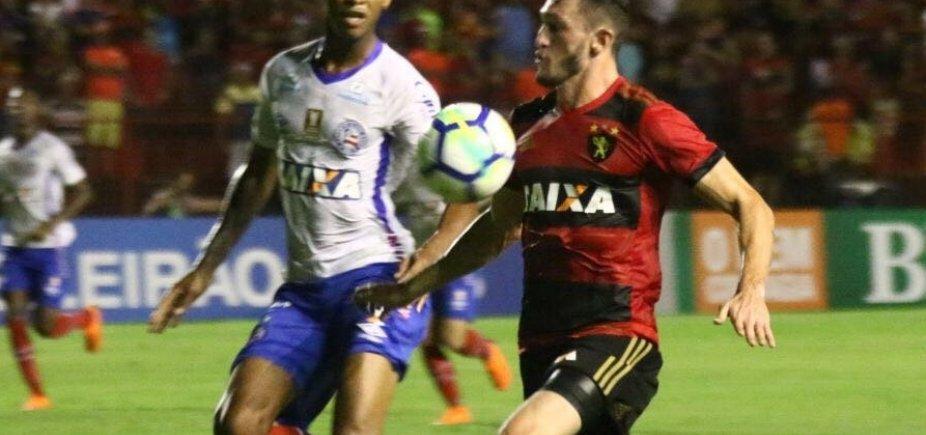 [Bahia perde para o Sport por 2 a 0 fora de casa]