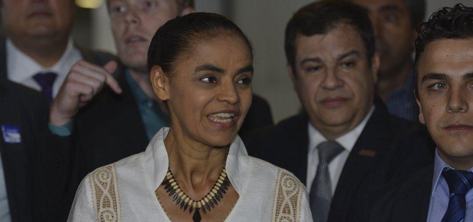 [Sem tempo de TV, Marina Silva prevê 'campanha franciscana']