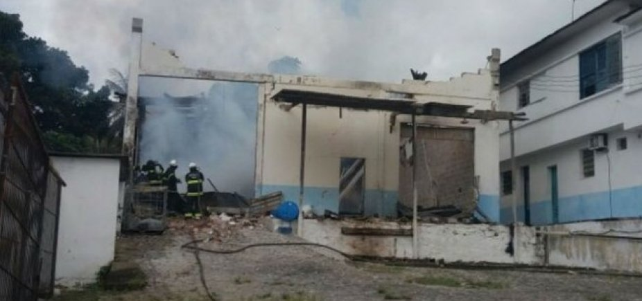 [Fábrica de velas em Pirajá tem novo foco de incêndio]