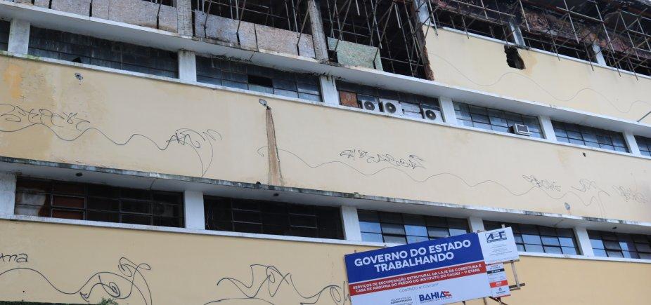 [Após incêndio em 2012, governo inicia reforma do Instituto do Cacau ]