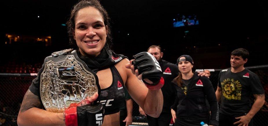 [Amanda Nunes defende cinturão pela terceira vez e vence americana no UFC 224]
