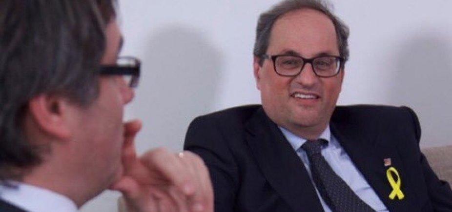 [Separatista Quim Torra é eleito presidente regional da Catalunha]