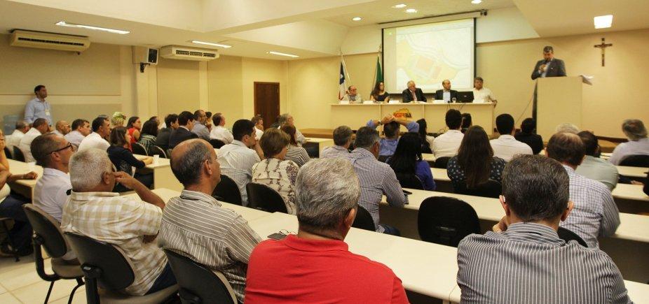 [Governo do Estado realiza audiência pública para discutir projeto da nova rodoviária ]