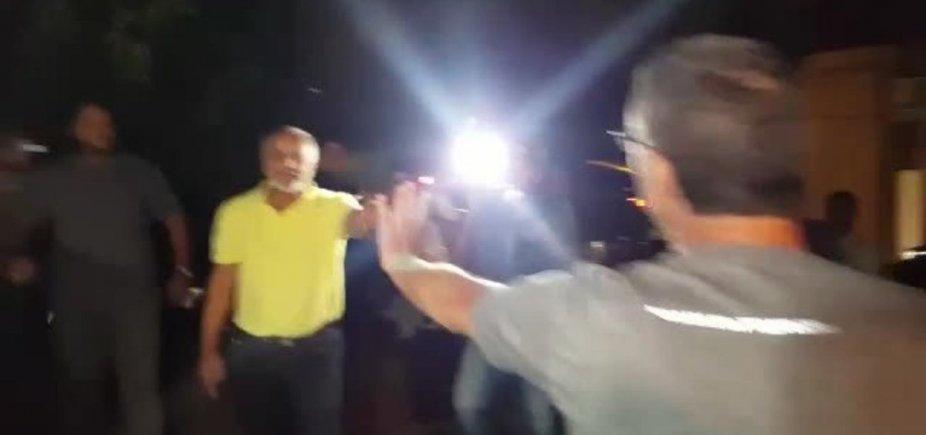 [Acusados de agressão em frente ao Instituto Lula, ex-vereador e filho são presos]
