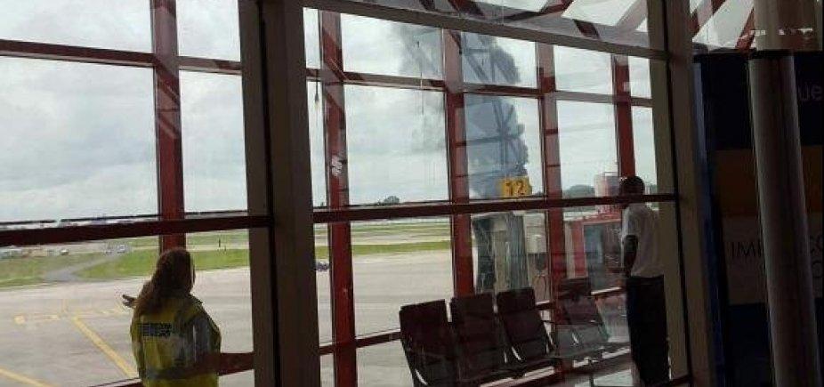 [Avião cai após decolagem de aeroporto de Cuba]