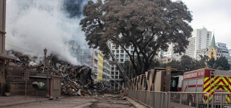 [Mais três vítimas do desabamento de prédio no Centro de SP são identificadas ]