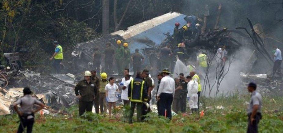 [Três pessoas sobrevivem ao acidente aéreo em Cuba]