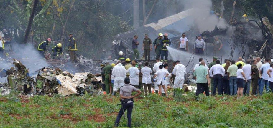 [Sobe para 108 o número de vítimas de acidente aéreo em Cuba]