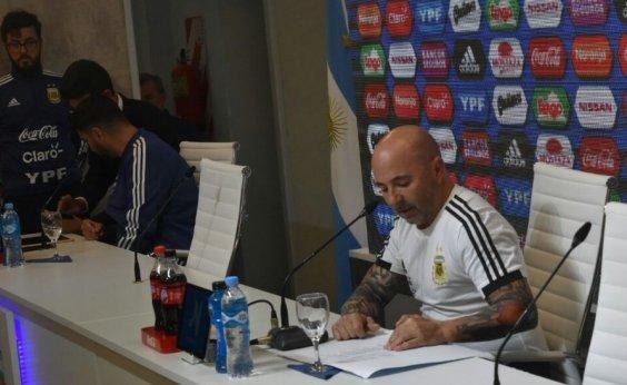 [Sem Icardi, Sampaoli convoca time da Argentina para a Copa do Mundo]