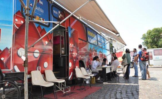 [Unidades móveis da Hemoba realizam atendimento em Salvador e Feira de Santana ]