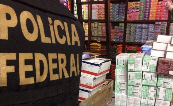 [Polícia Federal faz operação contra contrabando na Feira de São Joaquim]