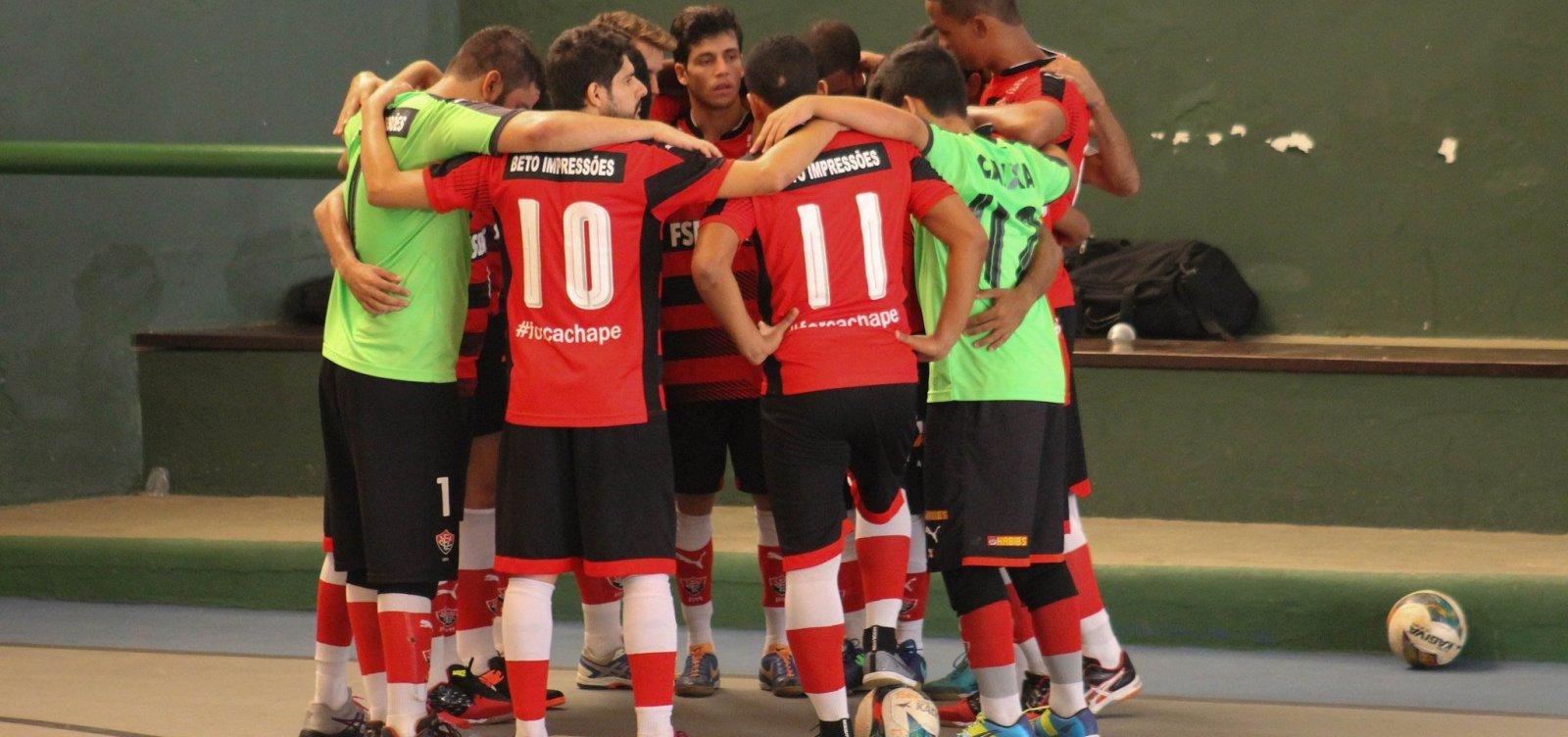 [Vitória anuncia novo parceiro e monta times de Futsal masculino e feminino]