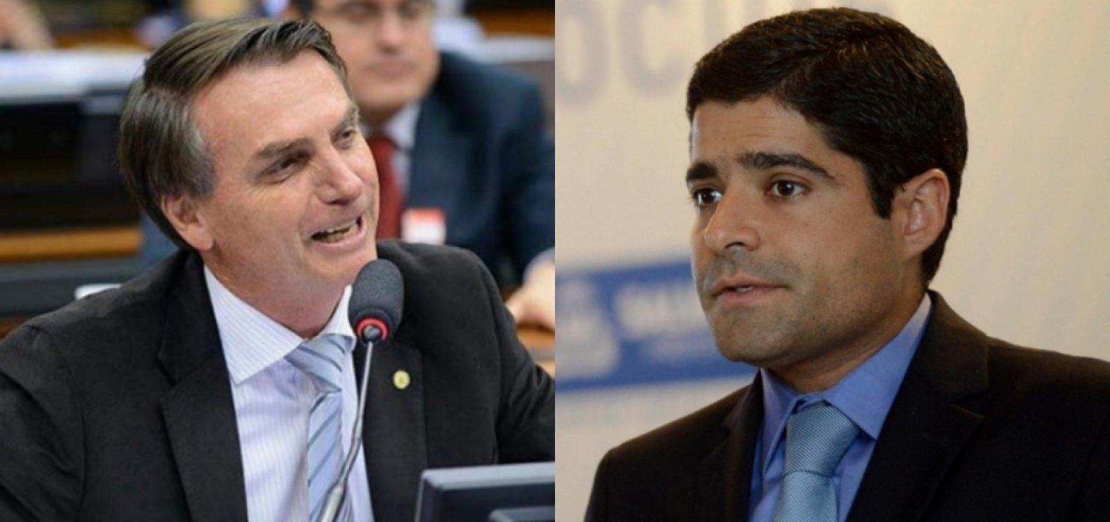 [Equipe de Neto procura contato com Bolsonaro]