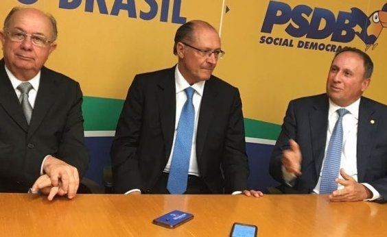 [José Ronaldo vai a São Paulo para confirmar apoio a Alckmin na disputa presidencial]