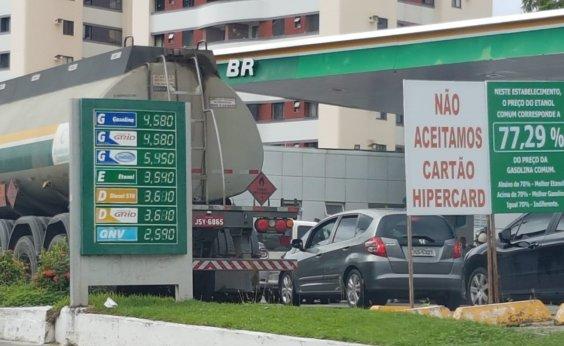 [Combustível acaba em 95% dos postos da Bahia]
