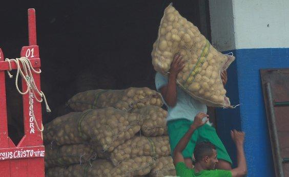 [Capital não vai ter abastecimento de produtos agrícolas neste fim de semana]