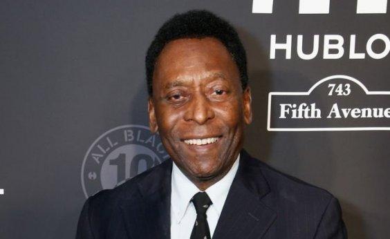 [Pelé é liberado pelos médicos e vai assistir à Copa na Rússia]