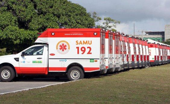 [Depois de quarta-feira, abastecimento de ambulâncias vai depender de escolta]