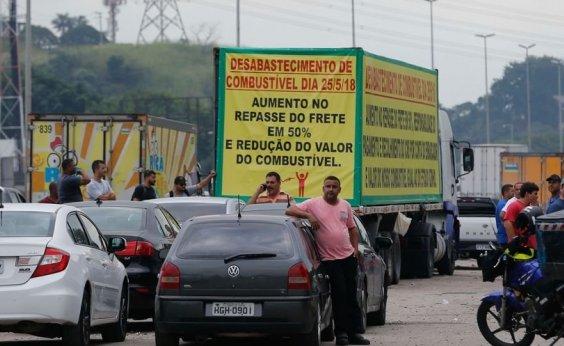 [Associação pede a caminhoneiros que retirem interdições nas rodovias]