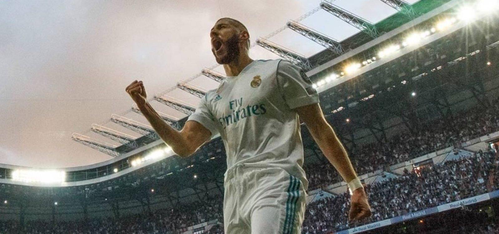 [Por 3 a 1, Real Madrid vence o Liverpool na grande final da Liga dos Campeões]