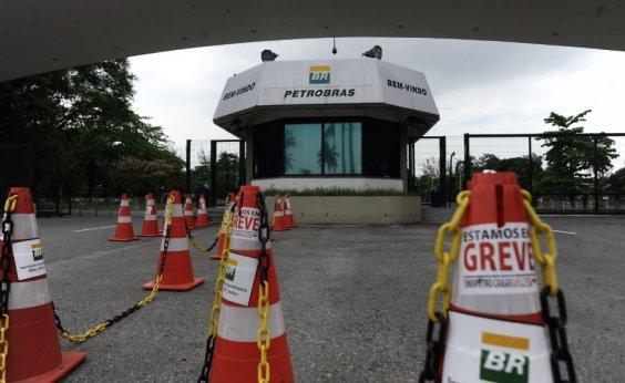 [Petroleiros marcam paralisação de 72h a partir de quarta-feira]