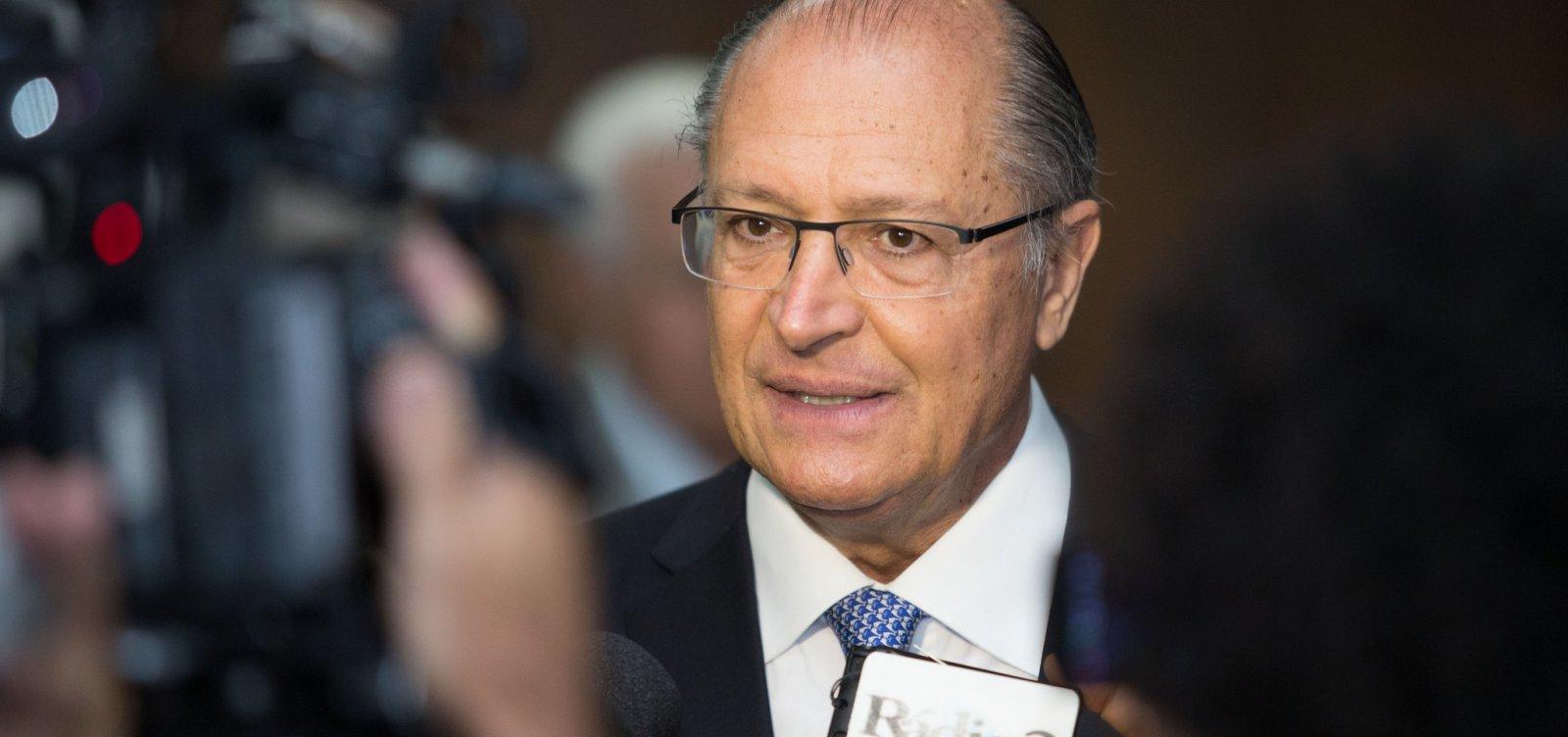 [De olho nos votos dos baianos, Alckmin desembarca no estado no dia 7 de junho]