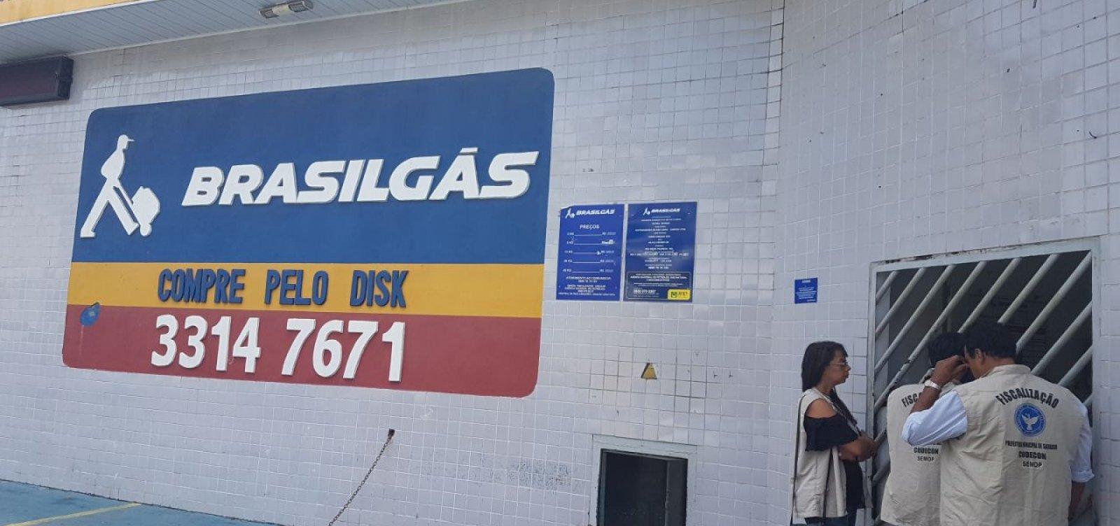 [Postos de venda de gás da Cidade Baixa são autuados por aumento indevido de preço]