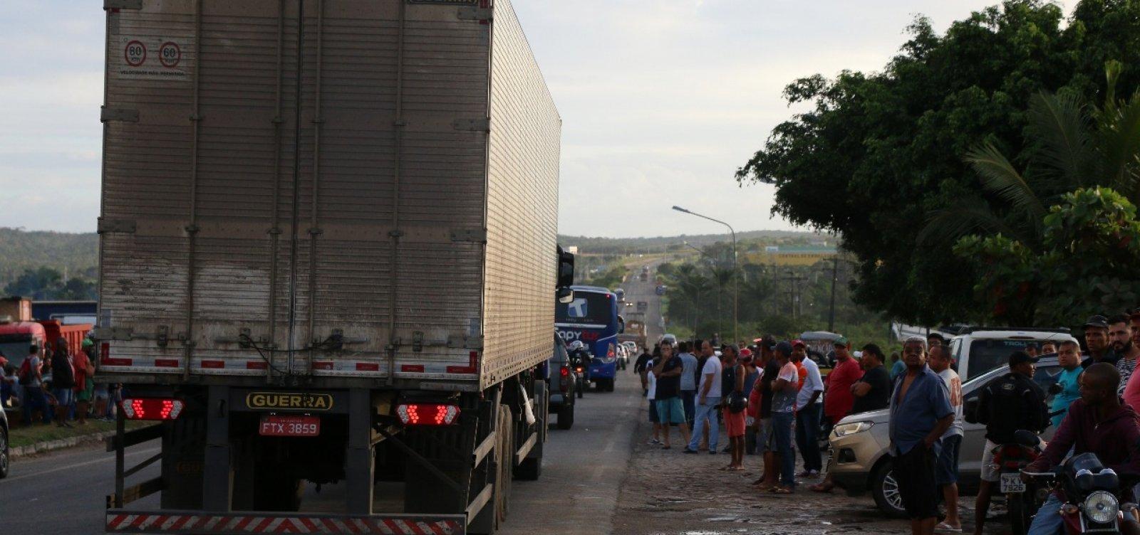 [SSP e PRF anunciam fim de obstruções em rodovias baianas]
