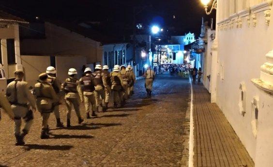 [Polícia garante Festival de Lençóis sem registro de ocorrências]